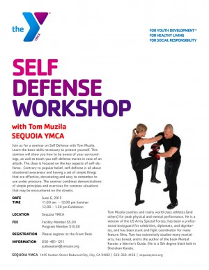 Sequoia YMCA - Self Defense Workshop with Tom Muzila